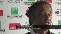Tennis - Coupe Davis : Noah «Pouille est notre jeune espoir»