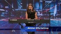 Anna Christine une fille de 10 ans chante comme une femme, clip # 2