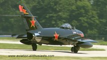 2011 Gathering of Eagles XV Air Show Mikoyan-Gurevich MiG-17 Fresco Sunday flight
