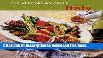 Read Vegetarian Table: Italy  Ebook Free