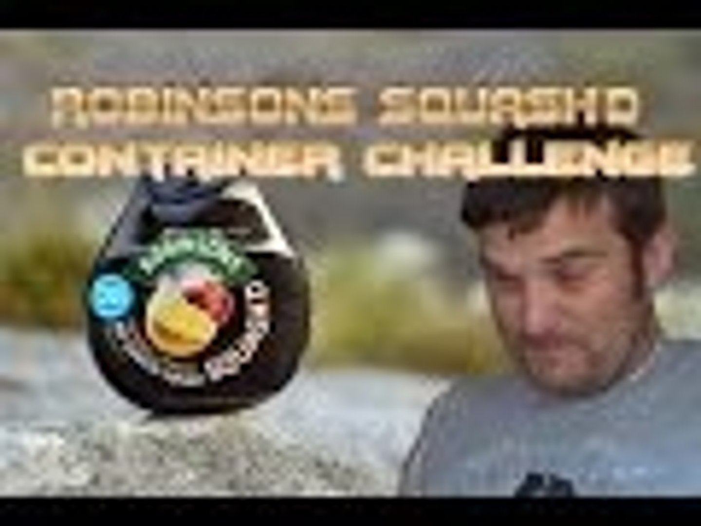 Robinsons Squash'd Whole Container Challenge | SUPERMADHOUSE83