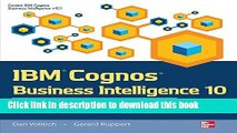 [Read PDF] IBM Cognos Business Intelligence 10: The Official Guide  Full EBook