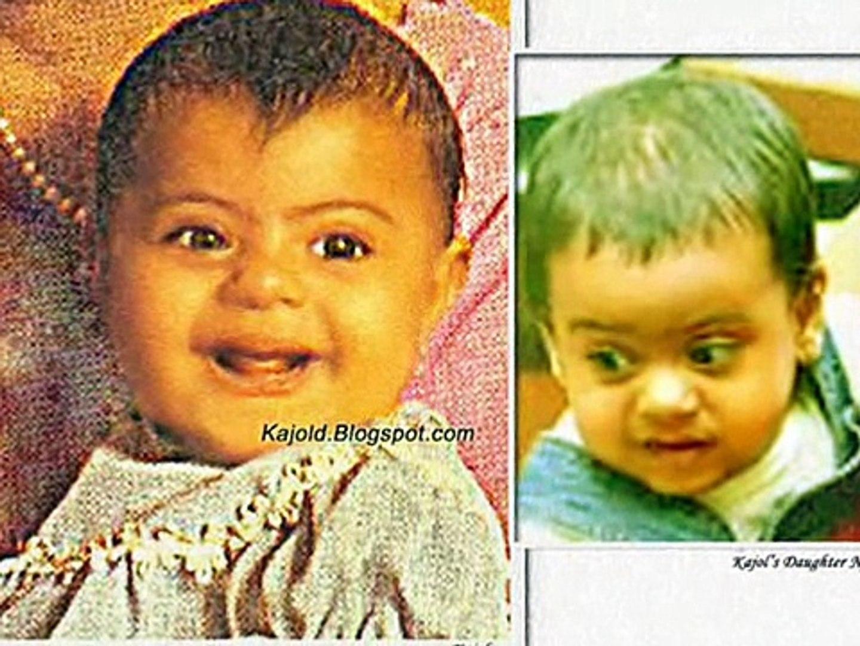 Image result for kajol and yug childhood pics