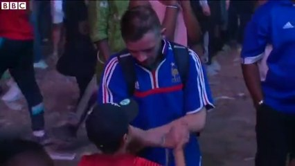 Euro 2016: Little Portuguese Kid Comforts Frenchman After France Loss