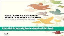 Read CSS Animations and Transitions for the Modern Web  Ebook Free