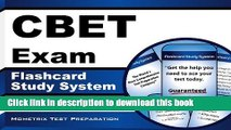 Read CBET Exam Flashcard Study System: CBET Test Practice Questions   Review for the Certified