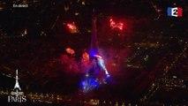 « Paris Chaleureux » - Yves Montand - Feu d'artifice @ Tour Eiffel Paris - 2016