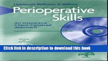 Read Perioperative Skills: An Interactive Client-Centered Approach (CD-ROM for Windows,