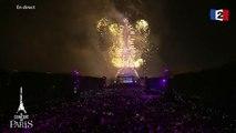 « Paris en Liberté » - Coldplay - Feu d'artifice @ Tour Eiffel Paris - 2016