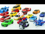 Transformers Carbot Tobot MiniCar 17 Vehicle Transformation Robot Car Toys 트랜스포머 카봇 또봇 미니 자동차 변신 동영상