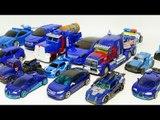 Blue Color Transformers Carbot Tobot Vehicle Transformation Car Toys 파란색 카봇 또봇 트랜스포머 자동차 장난감 변신 동영상