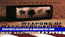Read Books Weapons of Mass Persuasion: Marketing the War Against Iraq (Heritage) PDF Free