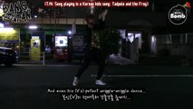 [ENG] 131129 BOMB: V's solo dance in the night