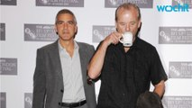 Bill Murray Wears George Clooney T-Shirt To George Clooney Party