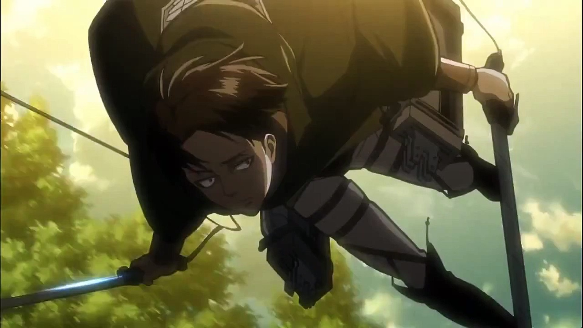 Levi Vs Female Titan Attack On Titan Shingeki No Kyojin Episode 22 With Eng Subs Video Dailymotion