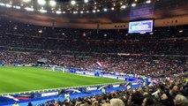 La Marseillaise at Stade de France 19 November 2013 FRA vs
