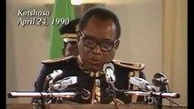 Le 24 avril 1990 : Le virage manqué de Mobutu qui a tué le Zaire