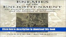 Read Enemies of the Enlightenment: The French Counter-Enlightenment and the Making of Modernity