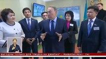 В Алматы с рабочим визитом прибыл Нурсултан Назарбаев (24.11.15))