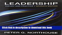 Download Leadership: Theory and Practice, 7th Edition  PDF Free