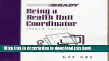[PDF]  Being a Health Unit Coordinator (4th Edition)  [Download] Online