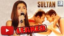 Alia Bhatt REACTED On Sultan, Udta Punjab Leak