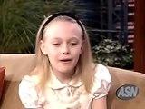 Dakota Fanning The Tonight Show With Jay Leno 10/19/2005