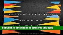 Read Confrontation: A Conversation with Aude Lancelin  Ebook Free