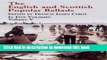 Download The English and Scottish Popular Ballads, Vol. 5  Read Online