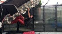Adrénaline - escalade : Un mur roulant d'escalade, ça vous tente ?