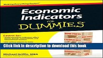 [Download] Economic Indicators For Dummies Free Books