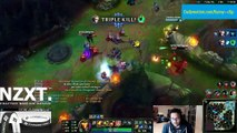 LoL Epic Moments #9 - Fly with me [Poppy] - Foursome   League of Legends(000011.010-001033.788)