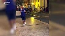 Les images du mouvement de foule à Nice