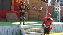 """""""Autograph session"""" Kamen Rider ghost my soul and Kamen Rider drive appeared!"""