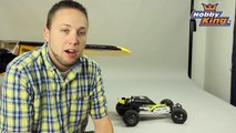 HobbyKing Daily - Turnigy 1/10 Brushless 2WD Desert Racing Buggy Test Runs