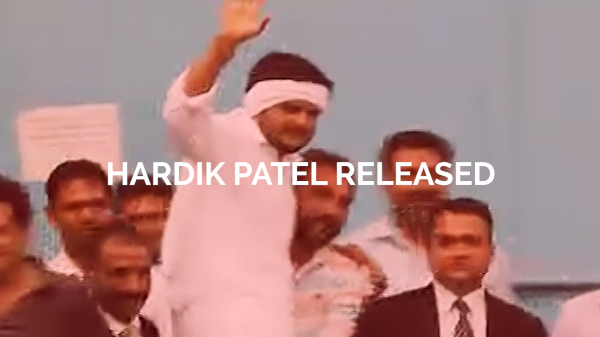 WATCH: Hardik Patel released from jail