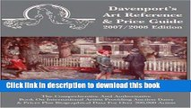 Read 2007/2008 Davenport s Art Reference   Price Guide (Davenport s Art Reference and Price