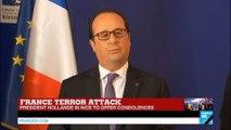 Attack in Nice: François Hollande speaks in Nice