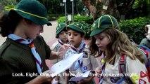 Park Orienteering for Cubs - Kowloon Park - Jan 25, 2015