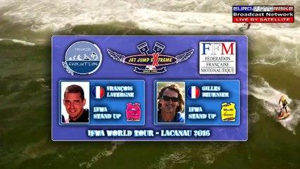 Finale Stand Up - Gilles Beurnier VS François Lavergne - IFWA European Tour JET JUMP EXTREME 2nd Stop - LACANAU 2016