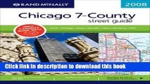 Read Rand McNally Chicago 7-County Street Guide: Cook, DuPage, Kane, Kendall, Lake, McHenry, Will