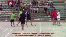 Phénoménal Vincent Lapertot, Sport Boules, France Doubles, Béziers 2016