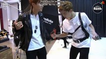 140922 [ENG] [BANGTAN BOMB] stretching doing dance in BTS free time