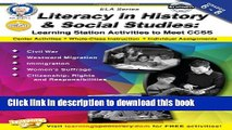 Read Books Literacy in History and Social Studies, Grades 6 - 8: Learning Station Activities to
