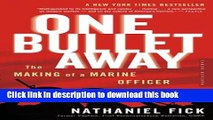 Read Books One Bullet Away: The Making of a Marine Officer E-Book Free