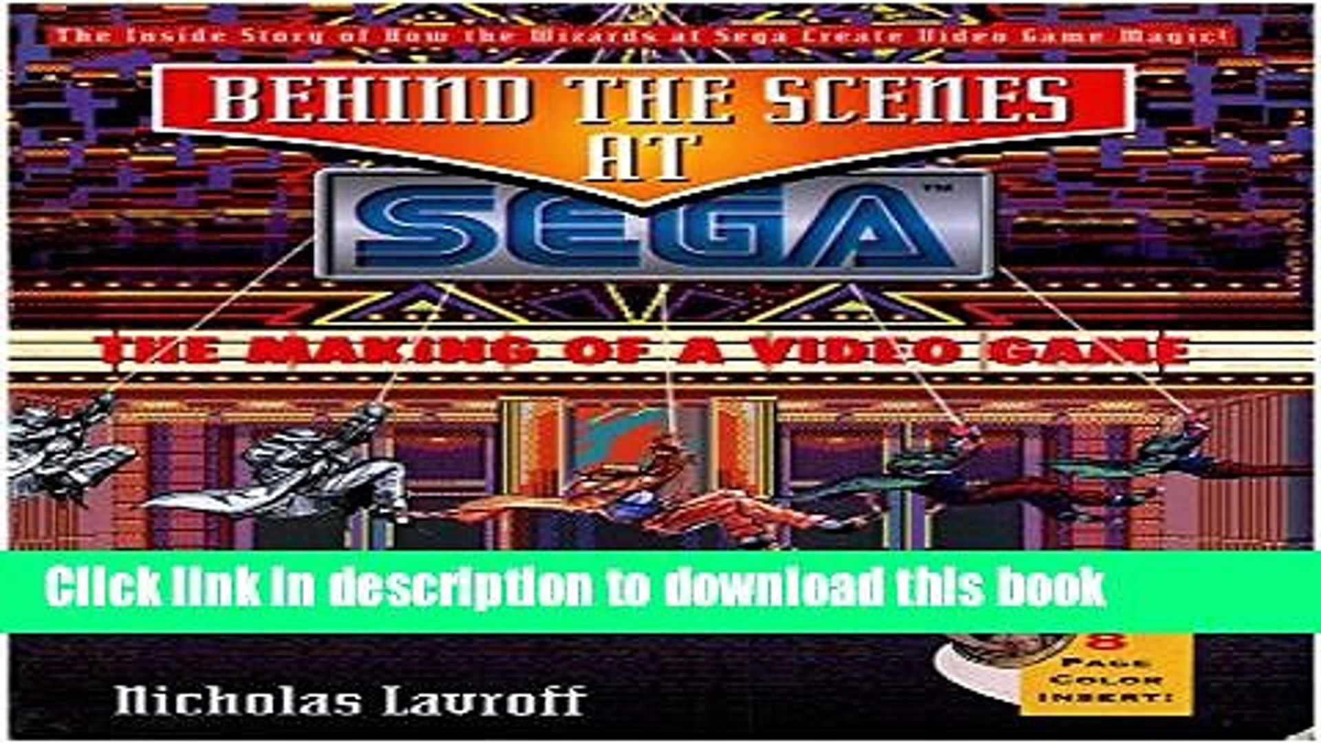 Download Behind the Scenes at Sega: The Making of a Video Game PDF Free