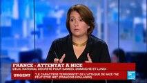 Attentat à Nice - Aucune revendication pour le moment.