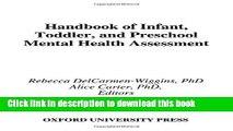 Read Book Handbook of Infant, Toddler, and Preschool Mental Health Assessment ebook textbooks