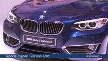 BMW Série 2 Cabriolet, comme une grande - En direct du Mondial de Paris 2014