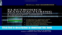 Download Electronics Manufacturing  : with Lead-Free, Halogen-Free, and Conductive-Adhesive